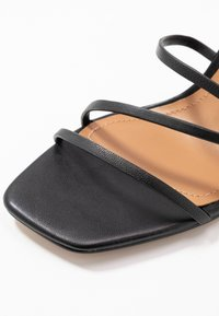 Who What Wear - EVERLY - High heeled sandals - black - 2