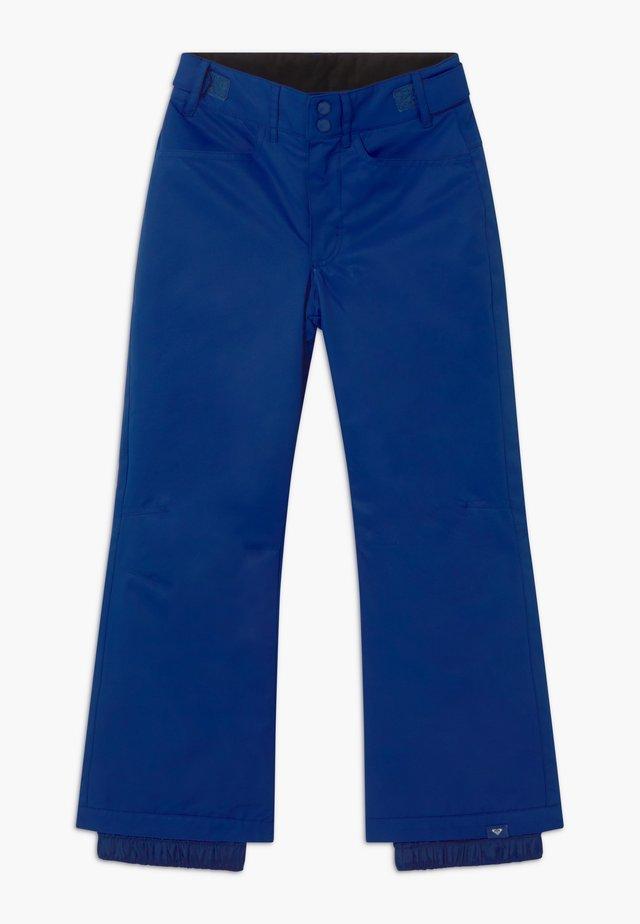 BACKYARD GIRL - Pantaloni da neve - mazarine blue