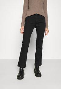Topshop - Bootcut jeans - black - 0
