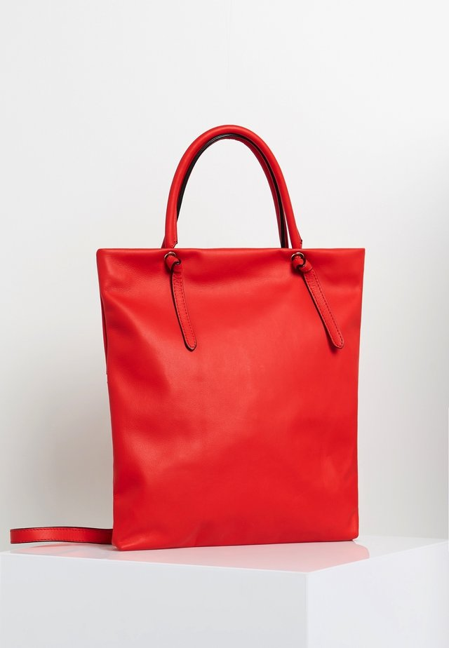 Shopping bag - corail