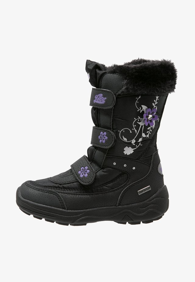 MARY  - Winter boots - schwarz/lila