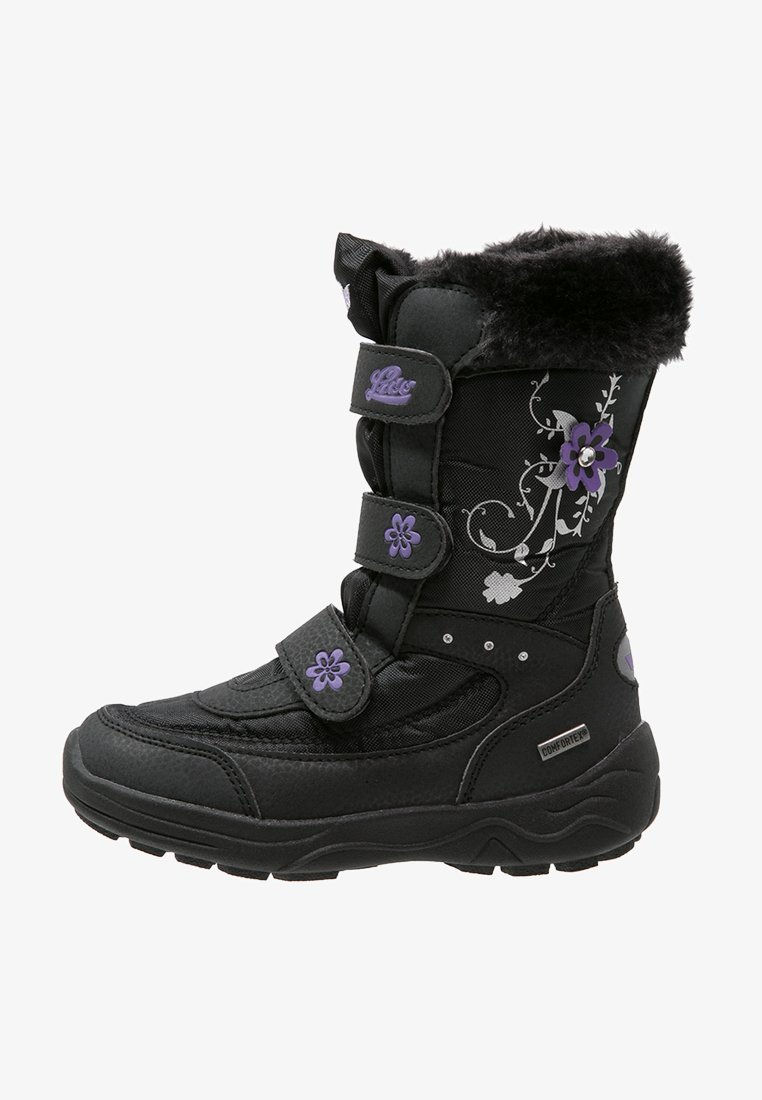 LICO - MARY  - Winter boots - schwarz/lila