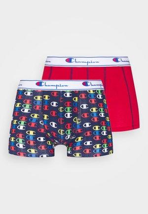 BOXER MIX 2 PACK - Underkläder - navy olympics