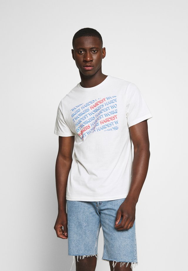 T-Shirt print - off-white