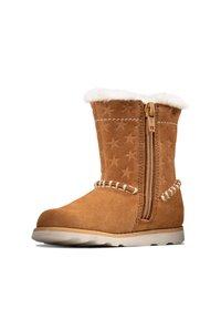 Clarks - Winter boots - hellbraunes veloursleder - 3