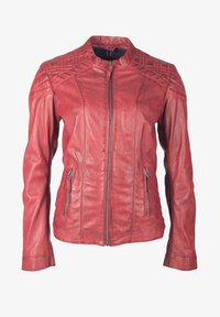 deercraft - SUN LAJUV - Leather jacket - dark red - 0