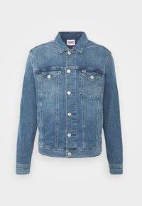 Tommy Jeans - REGULAR TRUCKER JACKET  - Spijkerjas - blue denim - 5