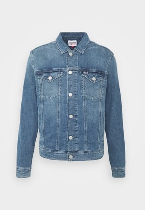 REGULAR TRUCKER JACKET  - Farkkutakki - blue denim