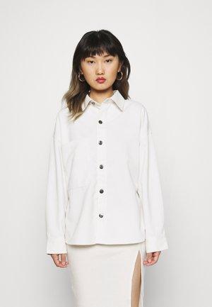SOFIE - Button-down blouse - almond milk