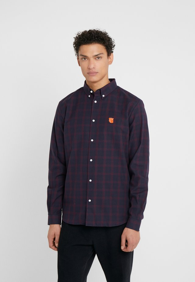 CHARLES - Shirt - dark red/orange