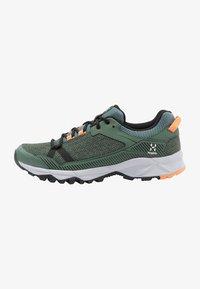 Haglöfs - TRAIL FUSE  - Hiking shoes - dk agave green/true black - 1