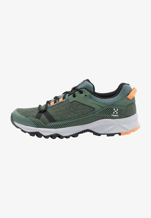 TRAIL FUSE  - Hiking shoes - dk agave green/true black