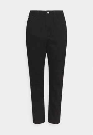 WRATH HIGHWAIST SPLIT  - Jeans Tapered Fit - black