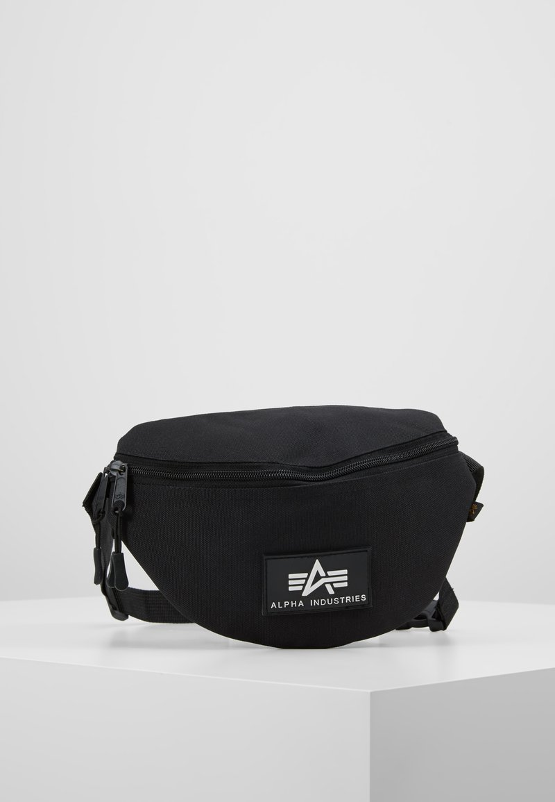 Alpha Industries - PRINT WAISTBAG - Ledvinka - black