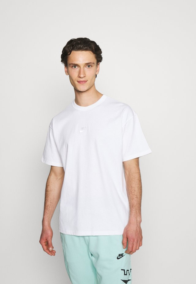 TEE PREMIUM ESSENTIAL - Basic T-shirt - white