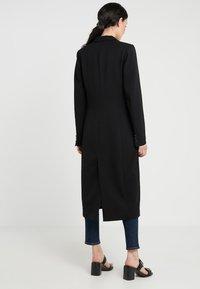2nd Day - DUSTER - Zimní kabát - black - 2