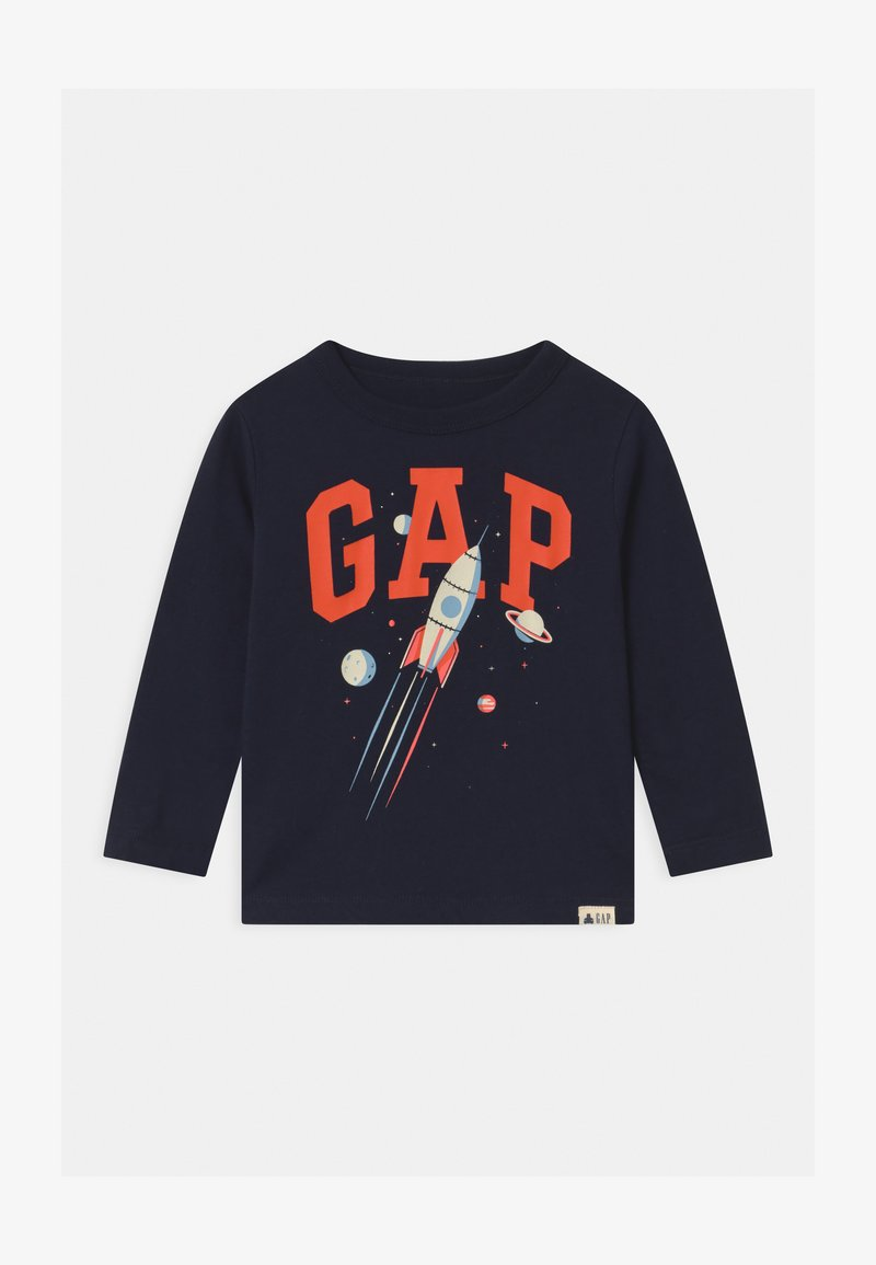 GAP - TODDLER BOY LOGO GRAPHIC - Maglietta a manica lunga - blue galaxy
