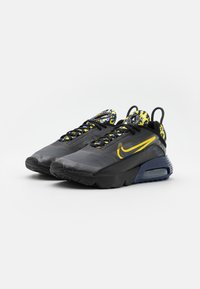 Nike Sportswear - AIR MAX 2090 - Trainers - black/tour yellow/binary blue - 1