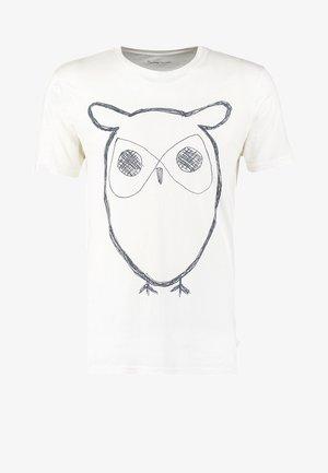 ALDER BIG OWL TEE - T-shirt con stampa - weiß