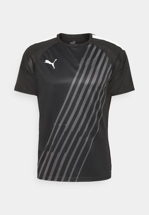 TEAMLIGA GRAPHIC - T-shirt print - puma black/puma white