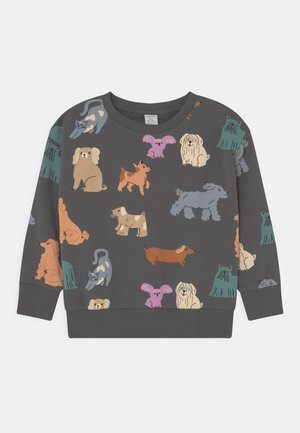 MINI DOG UNISEX - Sweatshirt - dark dusty grey