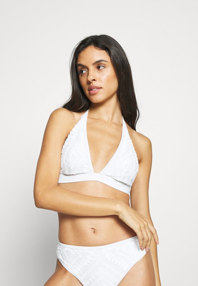THE ILLUMINATOR  - Bikini top - white