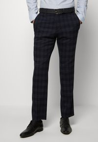 Ben Sherman Tailoring - MIDNIGHT TEXTURED CHECK SUIT - Completo - navy - 5