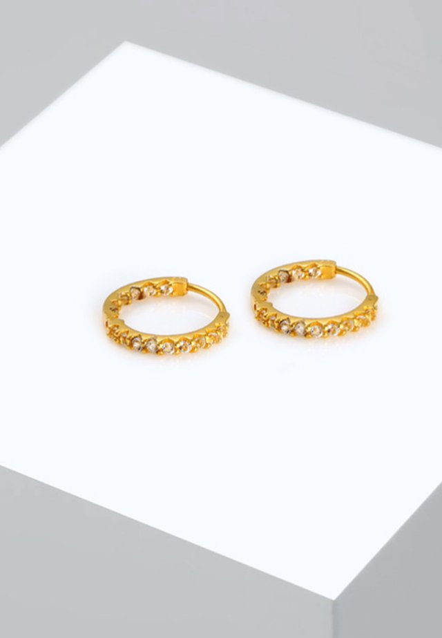 CREOLEN HÄNGER - Earrings - gold-coloured