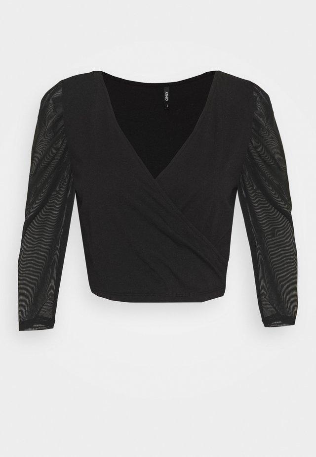 ONLLISE LIFE - Maglietta a manica lunga - black