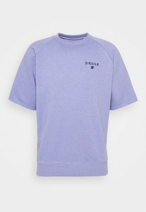 RELAXED CREW - T-shirt med print - purple marl