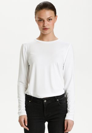 THE MODAL  - Longsleeve - bright white