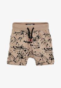 Next - 3 PACK SPLAT SHORTS - Shorts - beige - 1