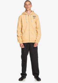 Quiksilver - Zip-up hoodie - honey heather - 1