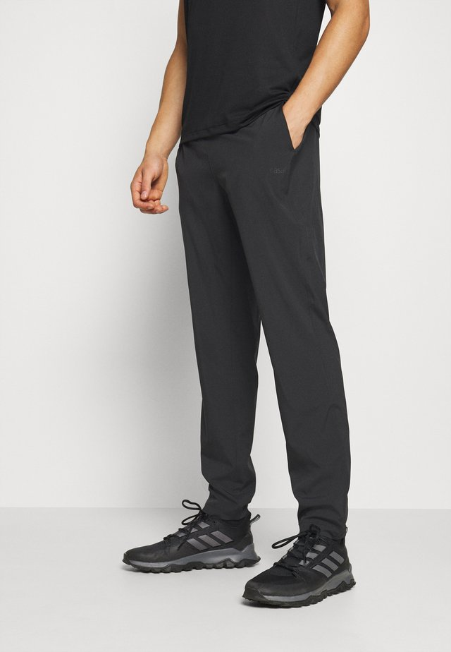 SLIM PANTS - Tracksuit bottoms - black
