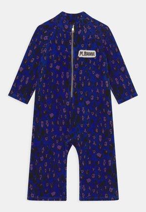LEOPARD ONESIE UNISEX - Jumpsuit - blue