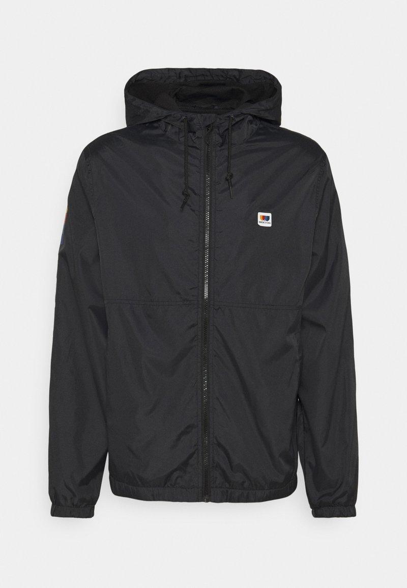 Brixton - CLAXTON ALTON - Summer jacket - black/white