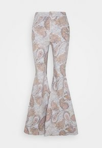 Free People - JUST FLOAT ON FLARE GEO - Trousers - limestone - 0
