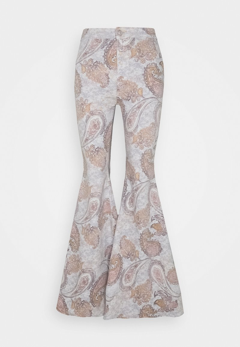 Free People - JUST FLOAT ON FLARE GEO - Trousers - limestone