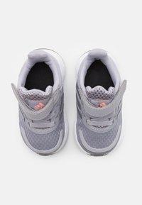 adidas Performance - DURAMO SL SHOES - Sports shoes - glory grey/silver metallic/light flash orange - 3