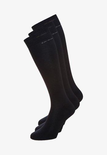 3PACK - Knee high socks - navy