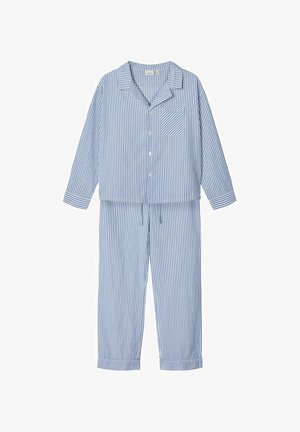 SET - Nattøj sæt - dusty blue