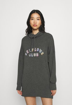 FLEXI SLOGAN - Camiseta de pijama - charcoal mix