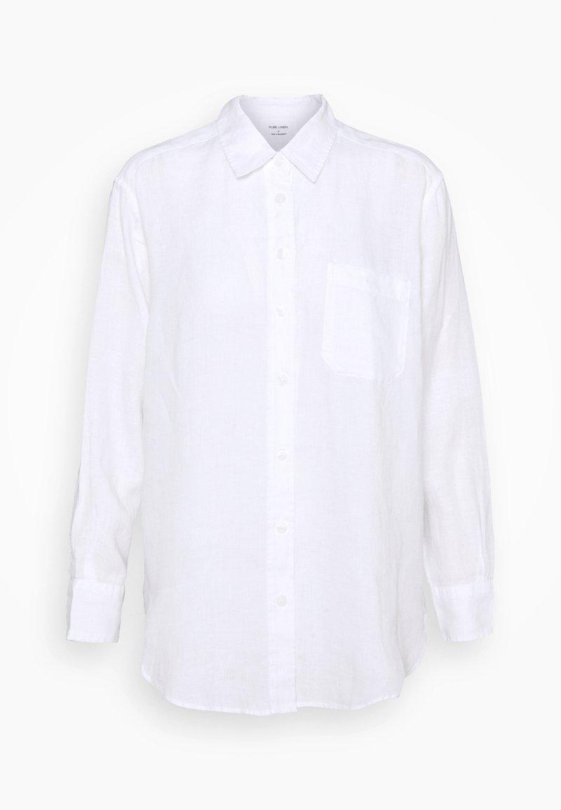 Marks & Spencer London - OVERSIZED - Chemisier - white