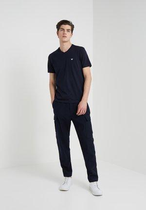 2 PACK - T-shirts basic - dark blue