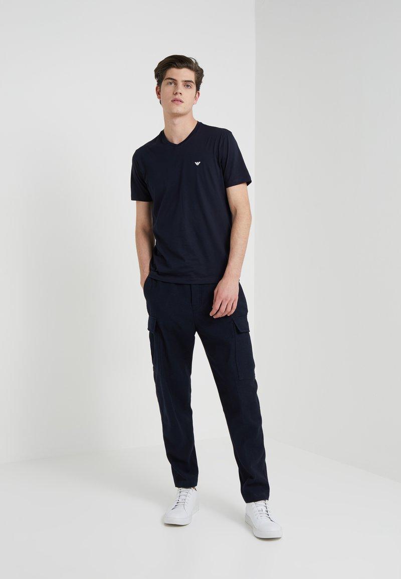 Emporio Armani - 2 PACK - T-shirt basique - dark blue