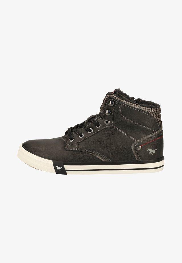 Sneakersy wysokie - graphit