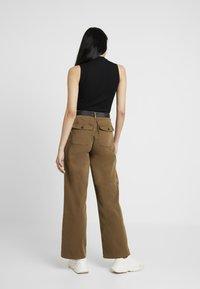 Ivy Copenhagen - AUGUSTA PANT - Trousers - army - 2