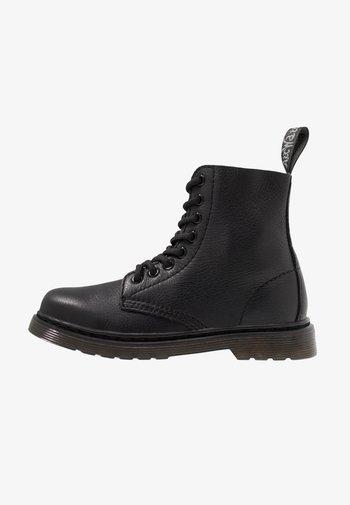 1460 PASCAL MONO JUNIOR - Korte laarzen - black
