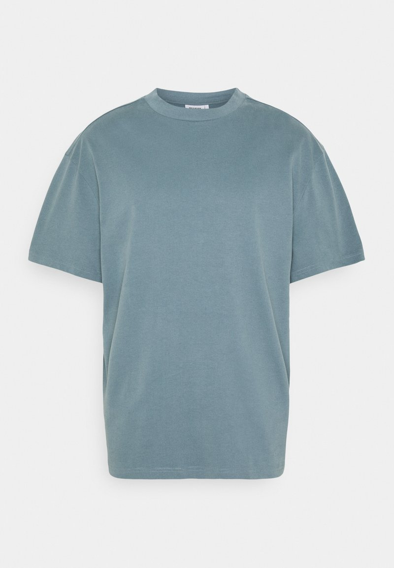 Weekday - GREAT - Basic T-shirt - blue