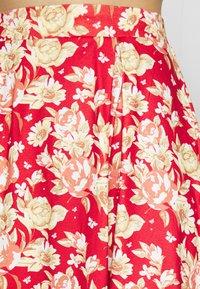 Vila - VIBE SHORT SKIRT 2 PACK - Mini skirt - black/scarlet flame - 5
